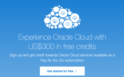 Try The Oracle Cloud